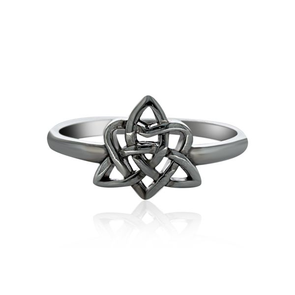 Silver CelticTriple Goddess Ring Image 2 Georgies Fine Jewellery Narooma, New South Wales
