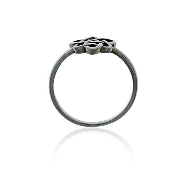 Silver CelticTriple Goddess Ring Image 3 Georgies Fine Jewellery Narooma, New South Wales