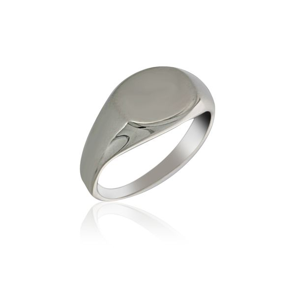 Silver Oval Signet Ring Georgies Fine Jewellery Narooma, New South Wales