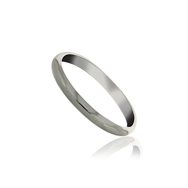 Silver Plain Thin Band Georgies Fine Jewellery Narooma, New South Wales