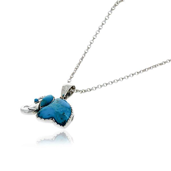 Onatah Sterling Silver Turquoise Elephant Image 2 Georgies Fine Jewellery Narooma, New South Wales