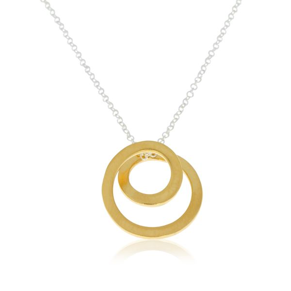 Yellow Gold Plated Sterling Silver Pendant Georgies Fine Jewellery Narooma, New South Wales