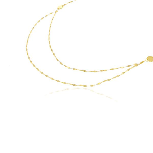 Yellow Gold Plated Sterling Silver Necklace Georgies Fine Jewellery Narooma, New South Wales