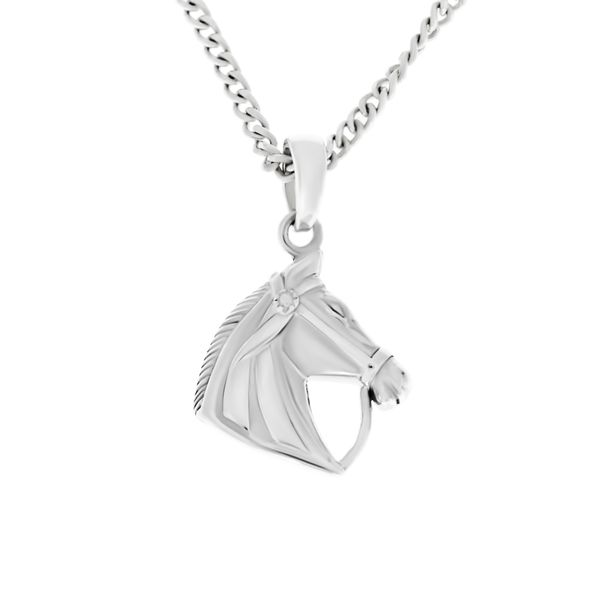 Sterling Silver Horses Head Pendant Georgies Fine Jewellery Narooma, New South Wales