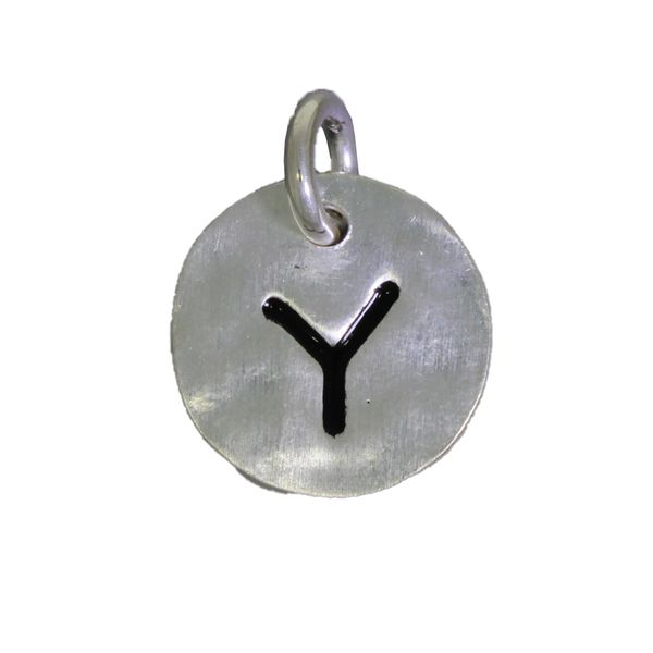 Mojo Silver Initial Y Charm Georgies Fine Jewellery Narooma, New South Wales