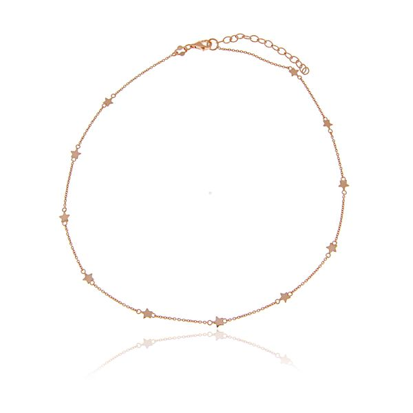 Rose Gold Plated Necklace With Stars Georgies Fine Jewellery Narooma, New South Wales