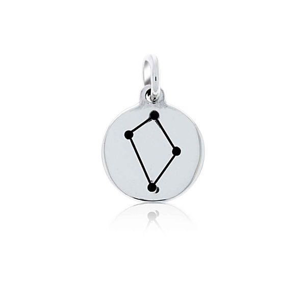 Mojo Silver Constellation Starsign Charm - Libra Georgies Fine Jewellery Narooma, New South Wales