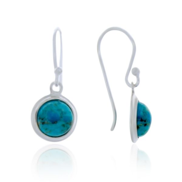 Sterling Silver Silver silver stone set earring Georgies Fine Jewellery Narooma, New South Wales