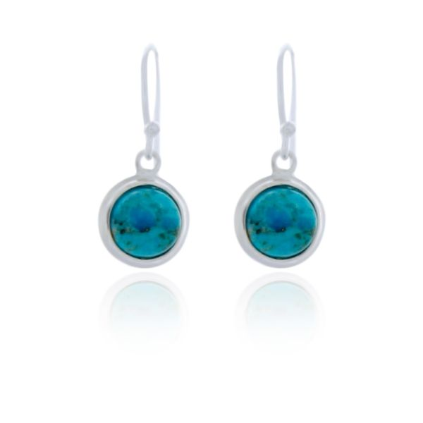 Sterling Silver Silver silver stone set earring Image 2 Georgies Fine Jewellery Narooma, New South Wales