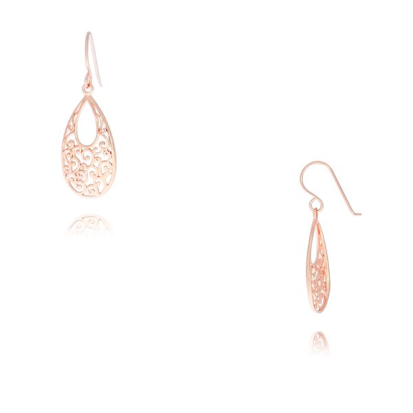 Rose Gold Plated Sterling Silver Earrings Georgies Fine Jewellery Narooma, New South Wales