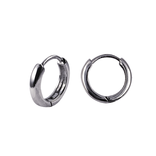 Sterling Silver Round Tube Huggies 3X14mm Georgies Fine Jewellery Narooma, New South Wales