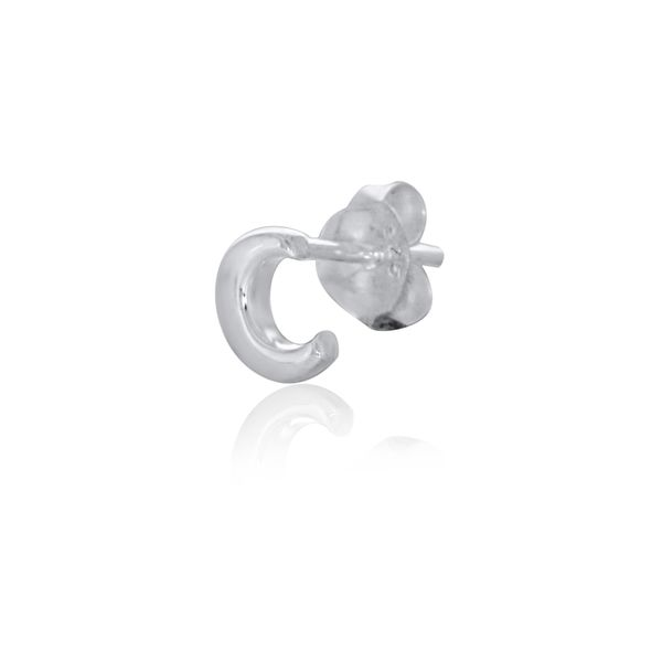 Mojo Silver Single Initial C Stud Earring Georgies Fine Jewellery Narooma, New South Wales