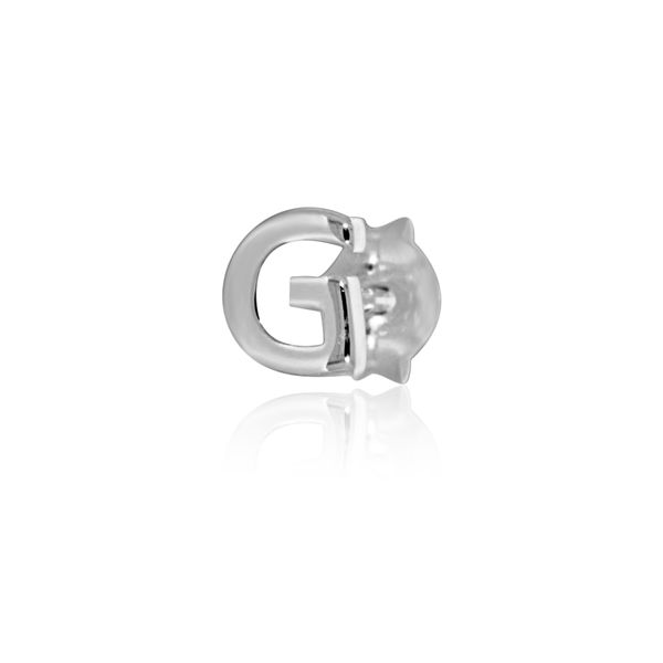Mojo Silver Single Initial G Stud Earring Georgies Fine Jewellery Narooma, New South Wales