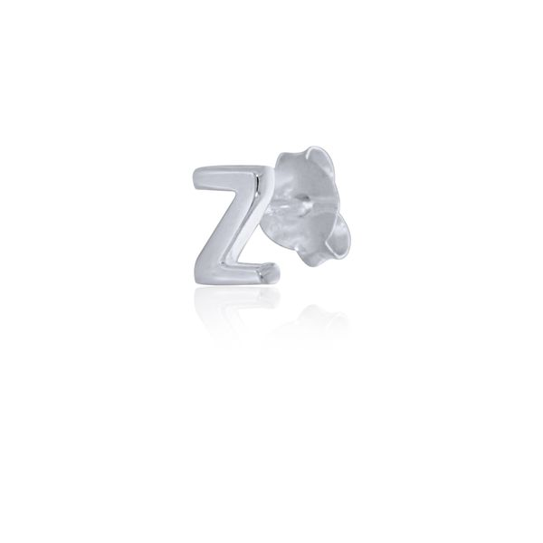 Mojo Silver Single Initial Z Stud Earring Georgies Fine Jewellery Narooma, New South Wales