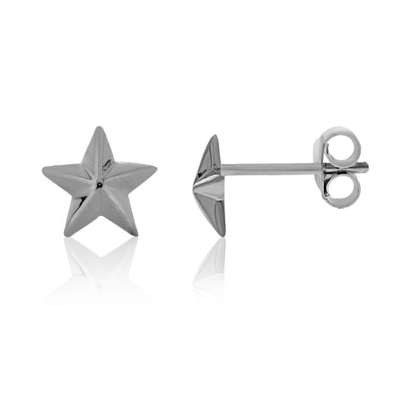 Silver Star Studs Georgies Fine Jewellery Narooma, New South Wales