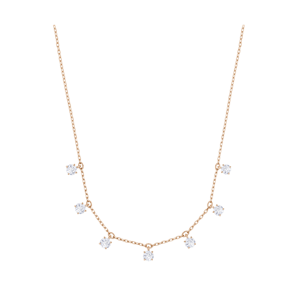 Swarovski rose gold plated attract choker necklace with white crystals Georgies Fine Jewellery Narooma, New South Wales