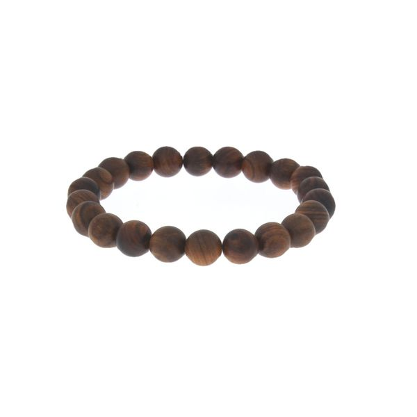 Anxiety Bracelet - Wooden 10Mm Beads - 21Cm Georgies Fine Jewellery Narooma, New South Wales