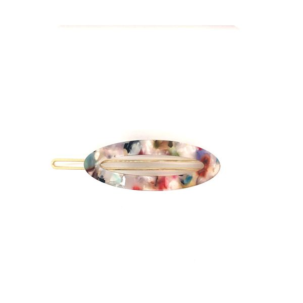 Onatah Resin Hair Clip - Multi Coloured Georgies Fine Jewellery Narooma, New South Wales