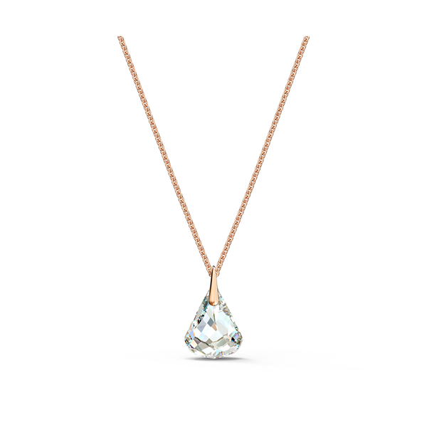 Swarovski Rose Gold Plated Spirit Pendant With Crystals Georgies Fine Jewellery Narooma, New South Wales