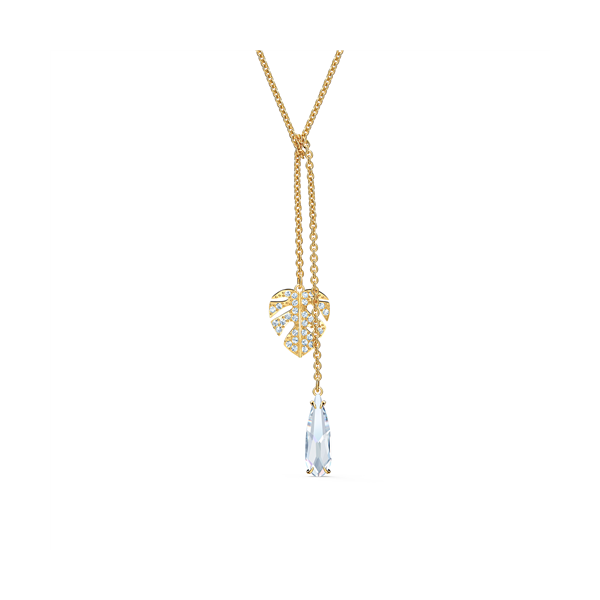 Swarovski Yellow Gold Plated Tropical Necklace Georgies Fine Jewellery Narooma, New South Wales