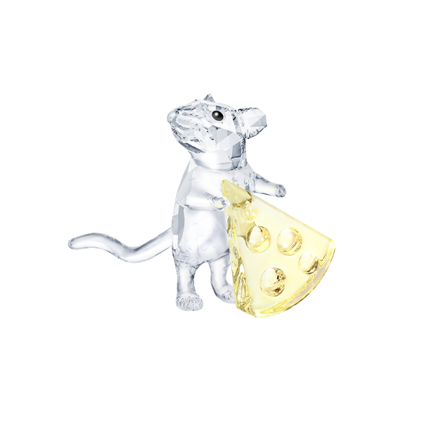 Swarovski Crystal Creations Mouse With Cheese Georgies Fine Jewellery Narooma, New South Wales
