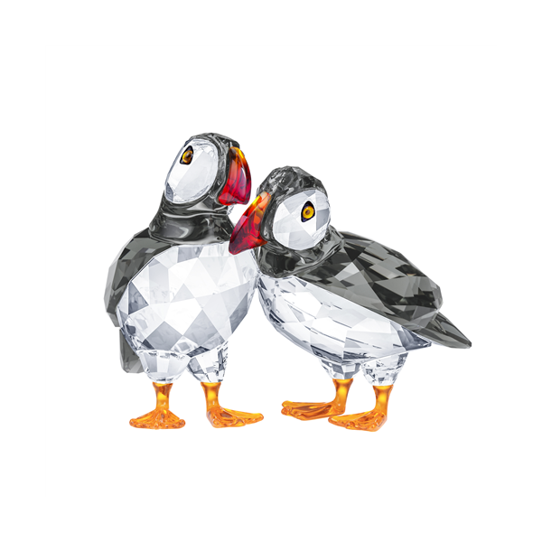 Swarovski Crystal Creations Atlantic Puffins Georgies Fine Jewellery Narooma, New South Wales