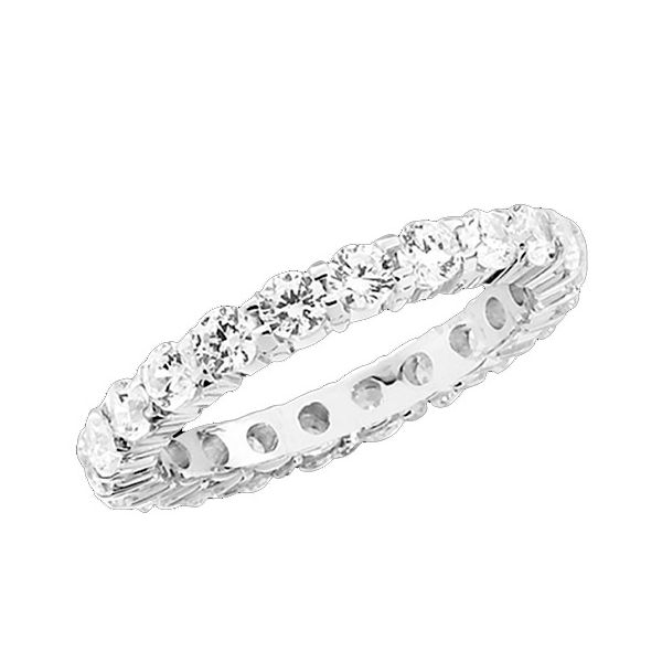 Customizable Shared Prong Eternity Band Goldrush Jewelers Marion, OH