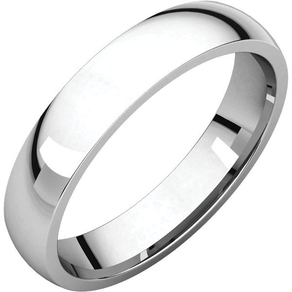 4MM Comfort Fit Light Polished Band Goldrush Jewelers Marion, OH