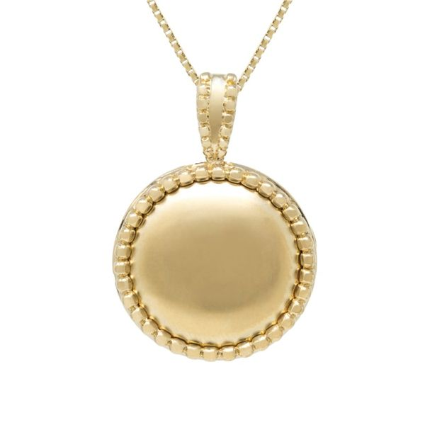 14k Yellow Gold Celine Locket Goldrush Jewelers Marion, OH