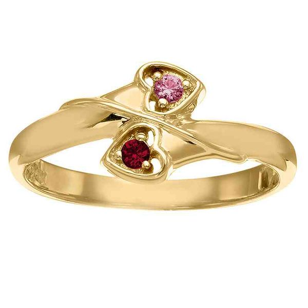 Delightful Hearts Mother's/Couple's Ring Goldrush Jewelers Marion, OH