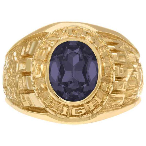 Champion Men's Class Ring Goldrush Jewelers Marion, OH