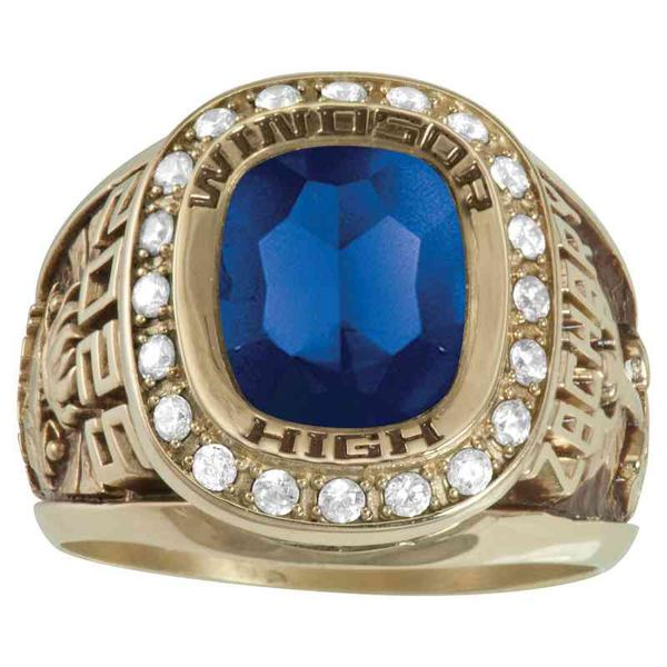 Esquire Class Ring Goldrush Jewelers Marion, OH