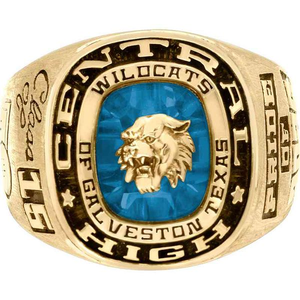 All-American Men's Class Ring Goldrush Jewelers Marion, OH