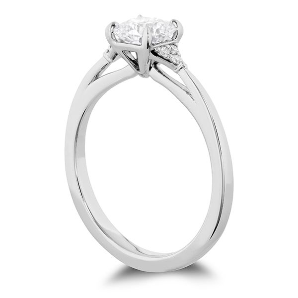 Hearts On Fire Triplicity Dream Engagement Ring Image 3 Goldstein's Jewelers Mobile, AL