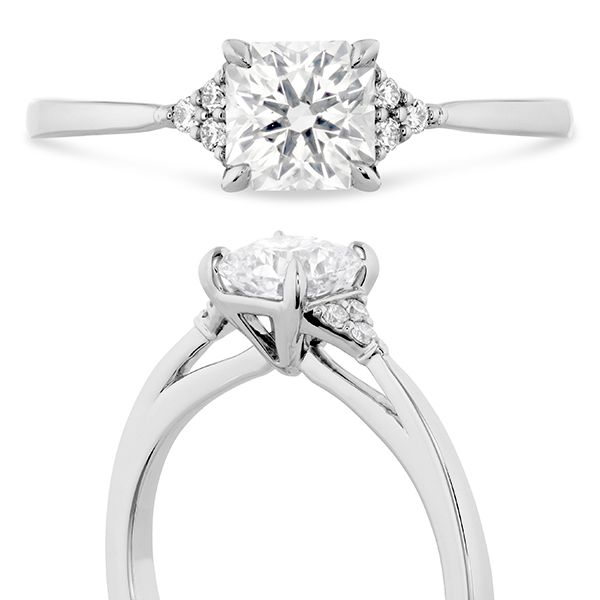 Hearts On Fire Triplicity Dream Engagement Ring Image 4 Goldstein's Jewelers Mobile, AL