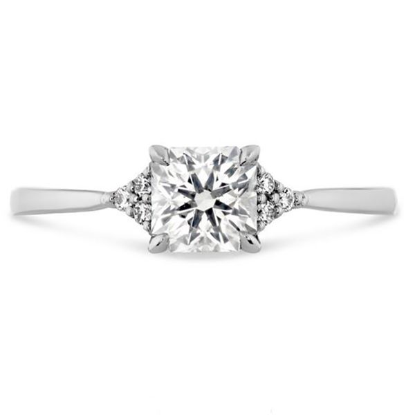 Hearts On Fire Triplicity Dream Engagement Ring Goldstein's Jewelers Mobile, AL