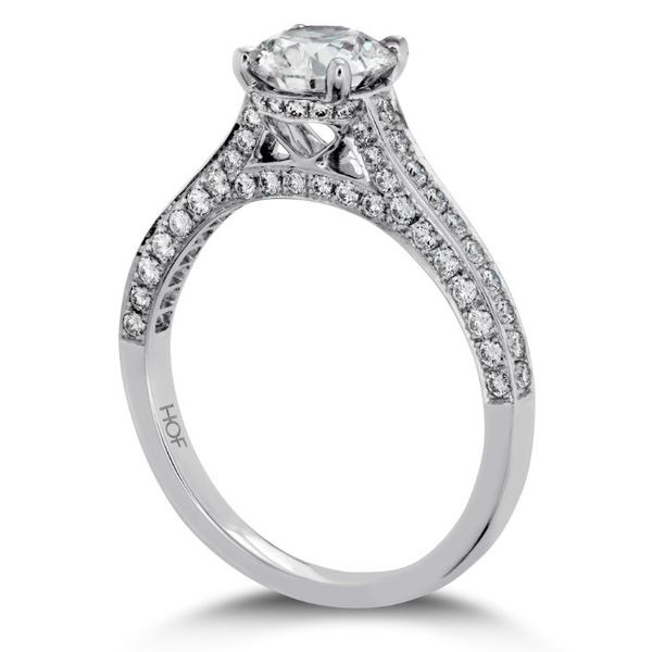 Hearts On Fire Illustrious Engagement Ring Image 3 Goldstein's Jewelers Mobile, AL