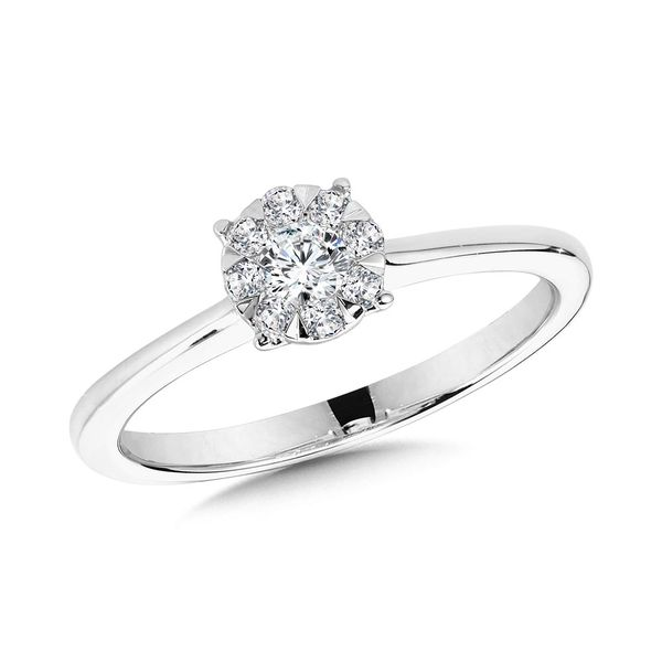 Diamond Mirage Engagement Ring Goldstein's Jewelers Mobile, AL