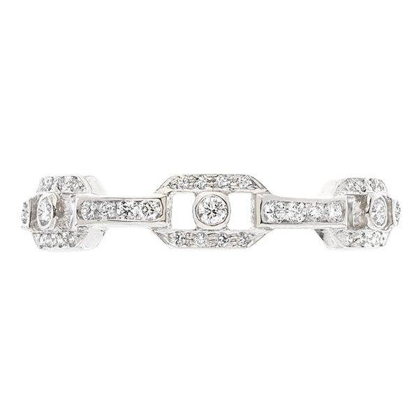 Sethi Diamond Eternity Band Goldstein's Jewelers Mobile, AL