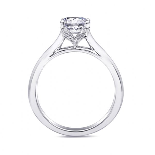 Coast Diamond Engagement Ring Image 3 Goldstein's Jewelers Mobile, AL
