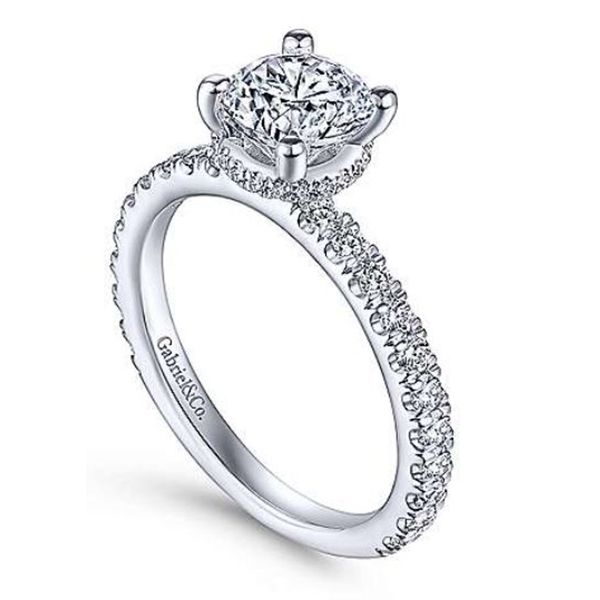 Gabriel Diamond Engagement Ring Image 2 Goldstein's Jewelers Mobile, AL