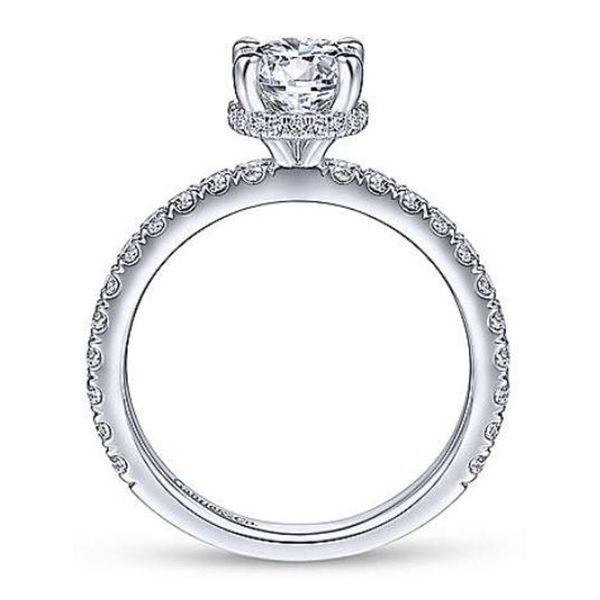 Gabriel Diamond Engagement Ring Image 3 Goldstein's Jewelers Mobile, AL