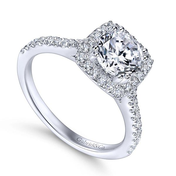 Gabriel Michaela Diamond Engagement Ring Image 2 Goldstein's Jewelers Mobile, AL