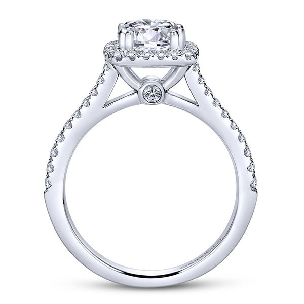 Gabriel Michaela Diamond Engagement Ring Image 3 Goldstein's Jewelers Mobile, AL