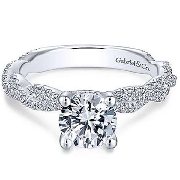 Gabriel Diamond Engagement Ring Goldstein's Jewelers Mobile, AL