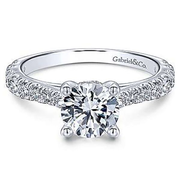 Gabriel Avery Diamond Engagement Ring Goldstein's Jewelers Mobile, AL