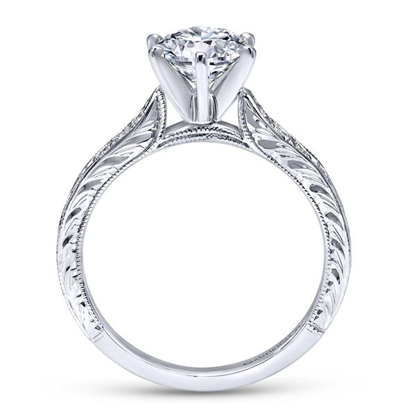 Engagement Ring Setting - Excludes Center Image 3 Goldstein's Jewelers Mobile, AL