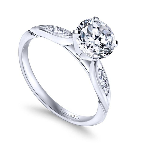 Gabriel Quinn Diamond Engagement Ring Image 2 Goldstein's Jewelers Mobile, AL