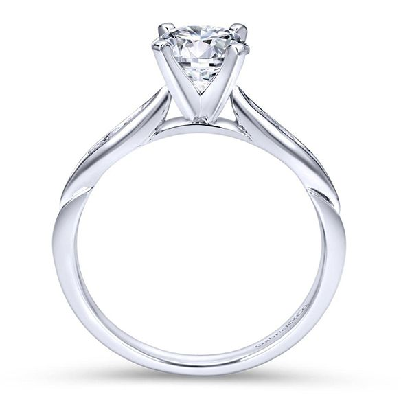Gabriel Quinn Diamond Engagement Ring Image 3 Goldstein's Jewelers Mobile, AL