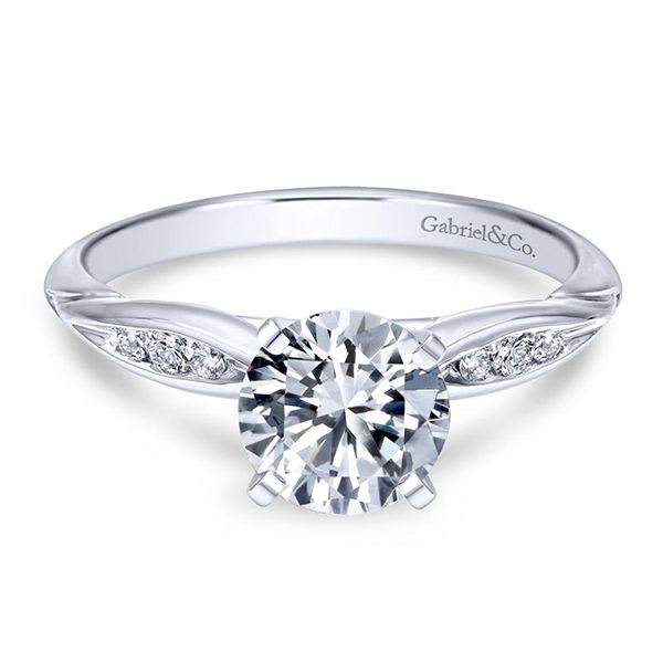 Gabriel Quinn Diamond Engagement Ring Goldstein's Jewelers Mobile, AL